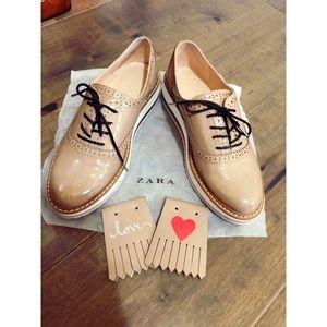 Platform bluchers Zara 6 (Price Firm)